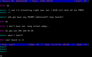 Masturbation Station Screen Capture Chat Circa 1996